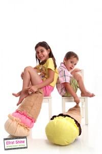 צילום ילדים בסטודיו של אפרת שיין
